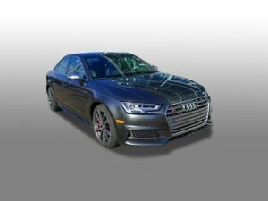 2018 Audi S4 Sedan 3.0T Technik quattro 8sp Tiptronic (SOO)