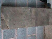 Yorkstone slab bench top