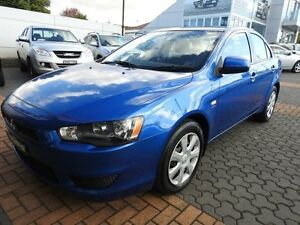 2012 Mitsubishi Lancer CJ MY12 ES Blue 6 Speed CVT Auto Sequential Sedan Croydon Burwood Area Preview