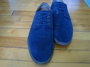 MEN'S TOPMAN UK BLUE SUEDE SHOES SIZE 43/10 West Island Greater Montréal image 10