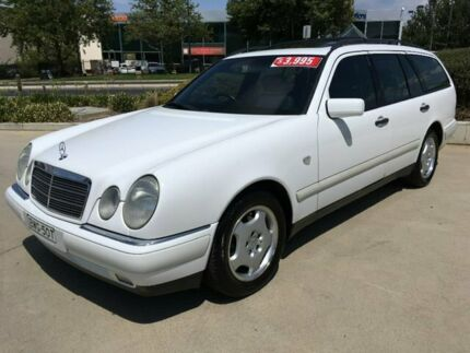 1999 Mercedes-Benz E240 W210 Classic T White 5 Speed Automatic Wagon Fyshwick South Canberra Preview