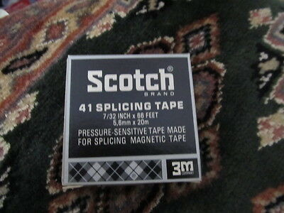 (NEW OLD STOCK - SCOTCH BRAND SPLICING TAPE #41 7/32