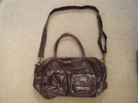 **REDUCED PRICE** KOTO Brown Leatherette Baby Changing Bag