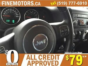 2012 JEEP WRANGLER UNLIMITED SAHARA * 4x4 * BOTH HARD & SOFT TOP London Ontario image 7