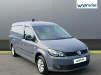 2013 Volkswagen Caddy 1.6 TDI 102PS Highline Van MAXI Diesel grey Manual