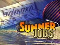 NOW HIRING, for the summer up to $23.75hr