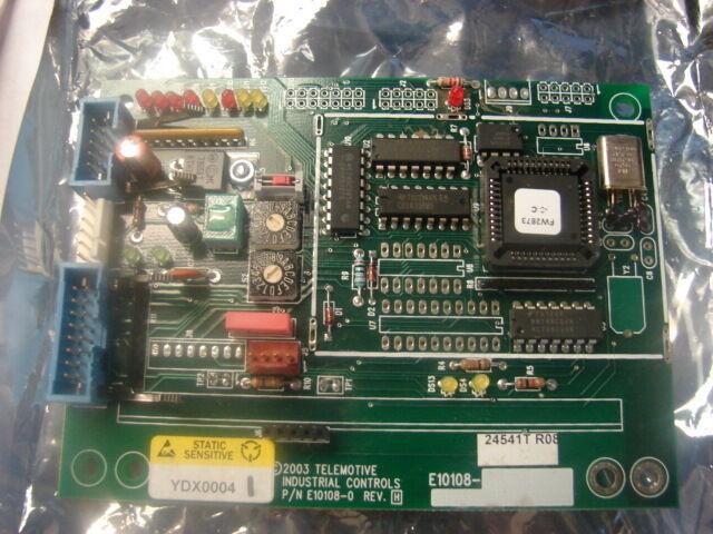 Telemotive IND. Conntrols E10108-0REV. H
