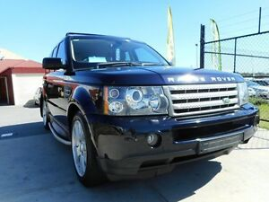 2008 Land Rover Range Rover MY09 Sport 2.7 TDV6 Buckingham Blue 6 Speed Sequential Auto Wagon Wangara Wanneroo Area Preview