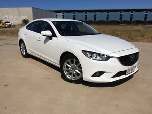 2014 Mazda 6 GJ1031 MY14 Sport SKYACTIV-Drive White 6 Speed Sports Automatic Sedan Garbutt Townsville City Preview