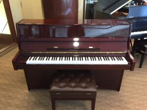 "* 2008 Made, 44"" Upright Piano KAWAI K15 Mahogany Polish *"