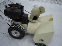 3--SnowBlowers to Choose-from, Both 100% Service, Ready to Blast