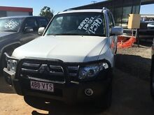 2008 Mitsubishi Pajero NS 25th Anniversary White 5 Speed Sports Automatic Wagon Rocklea Brisbane South West Preview