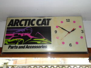 "Arctic Cat Dealer Sign ""Parts and Accessories"""