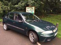 Rover 200, Full Mot, One owner from new , FSH, Genuine mileage