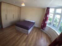 2 double rooms in the same house in kilburn
