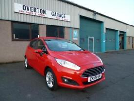 2016 Ford Fiesta 1.0T ECO BOOST ZETEC S/S 100ps Petrol red Manual