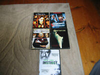 5 DVDs for sale- from 50 cents
