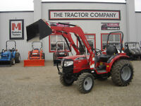 New 4wd compact tractor with loader