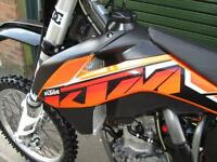 KTM SX 250 F 2013 MX MOTOCROSS BIKE ELECTRIC START FUEL INJECTION