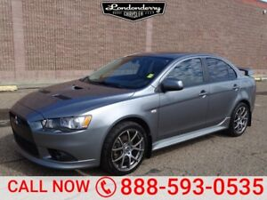2014 Mitsubishi Lancer AWC RALLIART Accident Free,  Heated Seats