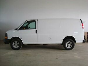 2012 Chevrolet Express 2500 Standard Rear-wheel Drive Cargo Van