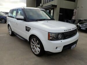 2012 Land Rover Range Rover Sport L320 12MY SDV6 Luxury White 6 Speed Sports Automatic Wagon Wangara Wanneroo Area Preview