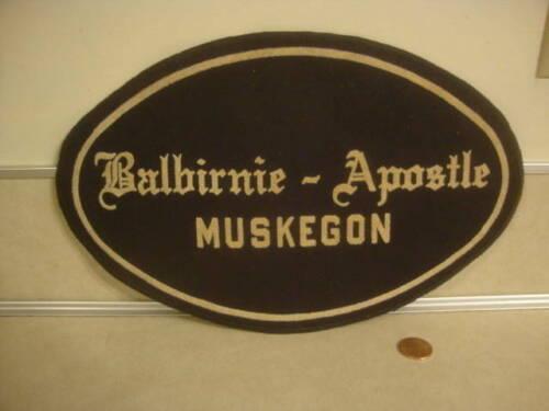 Vintage Funeral Home Coat Jacket Cloth Patch Balbirnie Apostle Mortuary Usher!