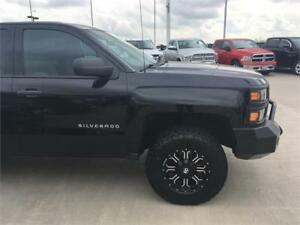 2015 Chevrolet Silverado 1500 4x4 double cab BLACK lifted