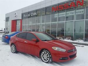 2013 Dodge Dart Limited ** LOW KMS and MOONROOF**