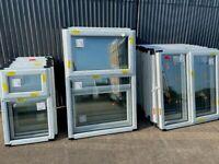 BRAND NEW WHITE PVC WINDOWS