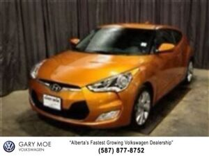 "2016 Hyundai VELOSTER 17"" Alloy Wheels, Push Start, Back Up Cam"