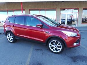 2014 Ford Escape AWD TITANIUM Accident Free,  Leather,  Heated S