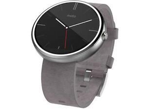 Authentic Geniune OEM LIKE NEW Motorola Moto 360 Android Smart Watch