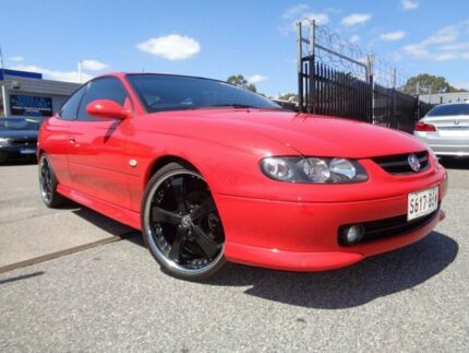 2002 Holden Monaro V2 Series II CV8 Red 4 Speed Automatic Coupe Pooraka Salisbury Area Preview