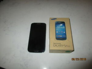 Samsung Galaxy S4 mini and charger