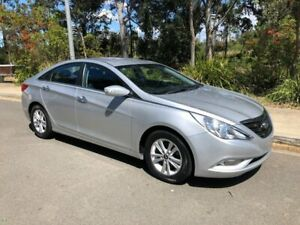 2011 Hyundai i45 YF Active Sedan 4dr Spts Auto 6sp 2.4i [MY11] Sleek Silver Sports Automatic Sedan Arncliffe Rockdale Area Preview
