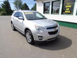 2014 Chevrolet Equinox LTZ for only $195 bi-weekly all in!