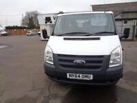 Ford Transit D/Cab Tipper Tdci 100Ps [Drw] Euro 5 DIESEL MANUAL WHITE (2014)