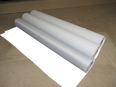 "20"" Wide SILVER REFLECTIVE FABRIC sew on material 1.5'x39"" 0.5Mx1M ccc-3m-TC"