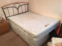 *** FREE DOUBLE BED WITH HEADBOARD & MATTRESS ***