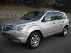 2009 ACURA MDX TECH PKG 3.7L AWD (CUIR, TOIT, AIR, MAGS, FULL!)
