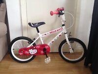 """12"""" Hello Kitty Girls Bike"""