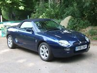 2001 MGF 1.8 Steptronic Convertible [Automatic]