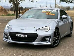 2018 Subaru BRZ Z1 MY18 Silver 6 Speed Manual Coupe Hillvue Tamworth City Preview