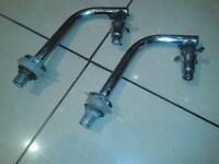 Hand basin Long nose taps - Used but in VGC - Can deliver locally