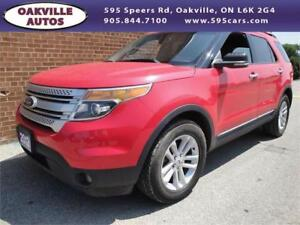 2012 Ford Explorer XLT 4wd 7 PASSENGER TOUCH SCREEN SAFETY INCL