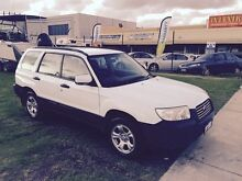 2006 Subaru Forester 79V MY06 AUTO White Automatic Wagon Wangara Wanneroo Area Preview