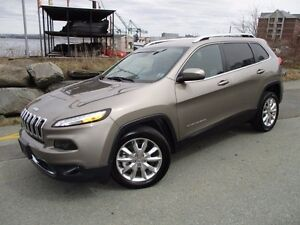 2016 Jeep CHEROKEE Limited V6 FRONT DRIVE (5000 KMS, NAVIGATION,