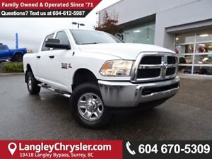 2014 RAM 3500 ST *ACCIDENT FREE*LOCAL* ONE OWNER*