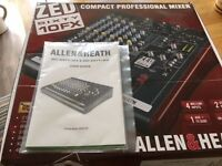 Allen & Heath Mixing Desk ZED sixty 10 FX
